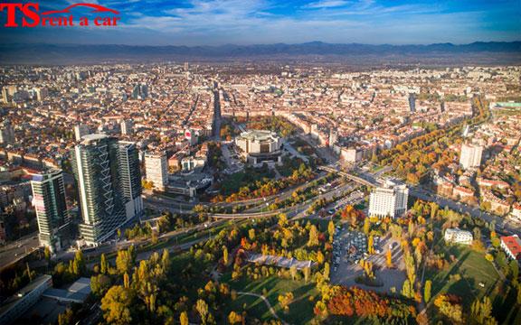 pronajmout auto v sofii bulharsko automatické