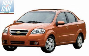 Забронировать Chevrolet Aveo
